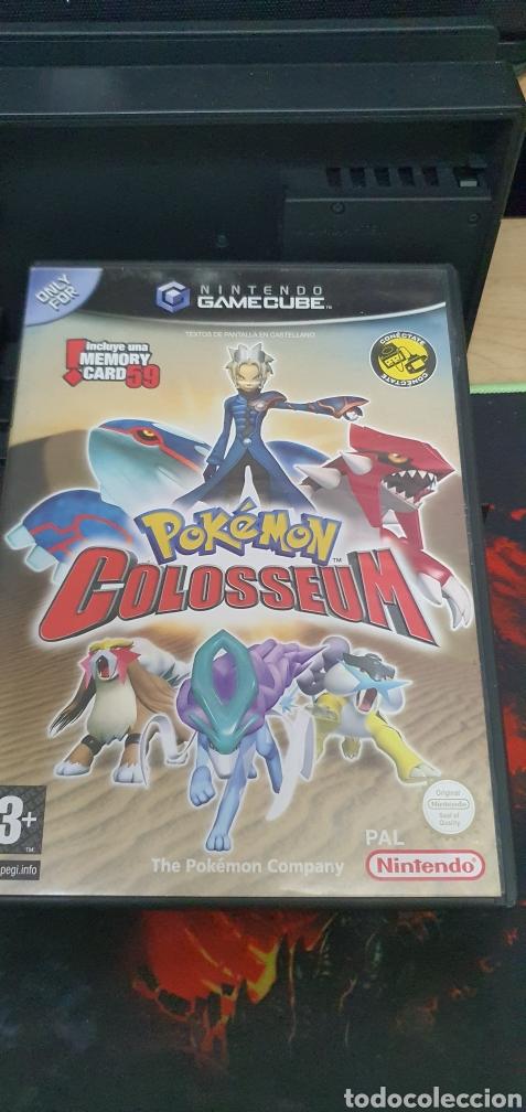 NINTENDO GAMECUBE POKEMON COLOSSEUM (Juguetes - Videojuegos y Consolas - Nintendo - Gamecube)