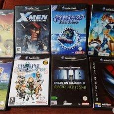 Videojuegos y Consolas: LOTE JUEGOS GAMECUBE NINTENDO PAL ESPAÑA CONSOLA GC. Lote 259043290