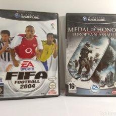 Videojuegos y Consolas: GAME CUBE - CAJAS SIN JUEGO CON MANUALES. Lote 260062265