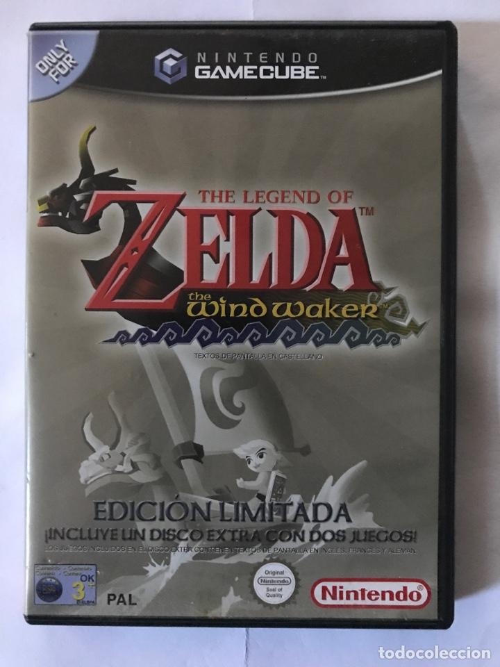 THE LEGEND OF ZELDA EDICIÓN LIMITADA PAL GAMECUBE NINTENDO (Juguetes - Videojuegos y Consolas - Nintendo - Gamecube)