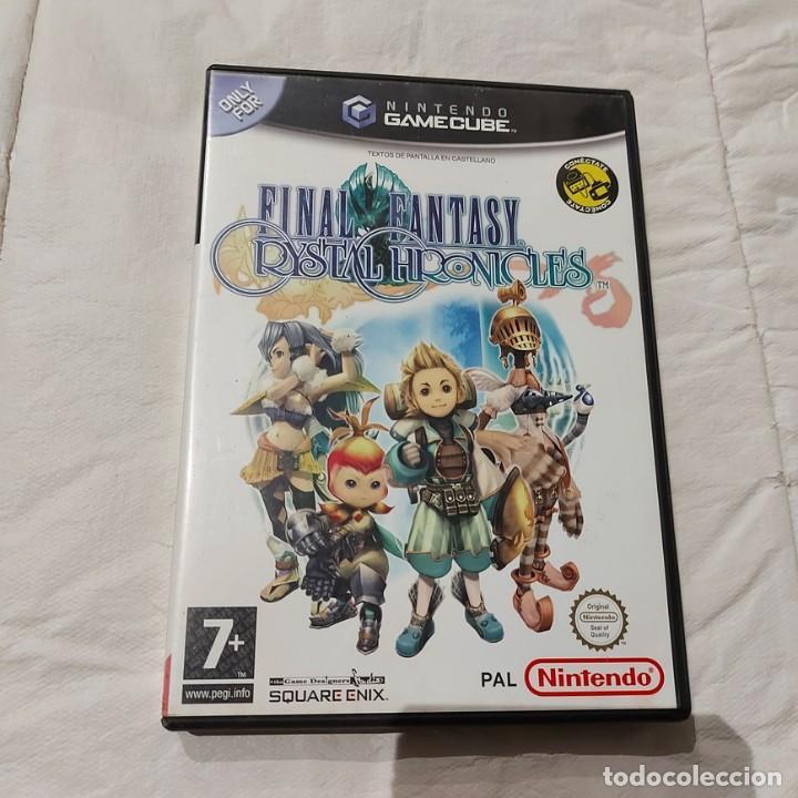 JUEGO GAMECUBE FINAL FANTASY CRYSTAL CHRONICLES PAL ESP ** SEMINUEVO ** (Juguetes - Videojuegos y Consolas - Nintendo - Gamecube)