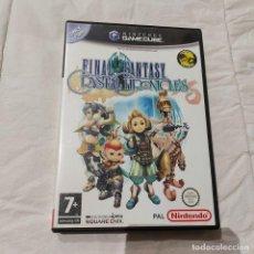 Videogiochi e Consoli: JUEGO GAMECUBE FINAL FANTASY CRYSTAL CHRONICLES PAL ESP ** SEMINUEVO **. Lote 262230660