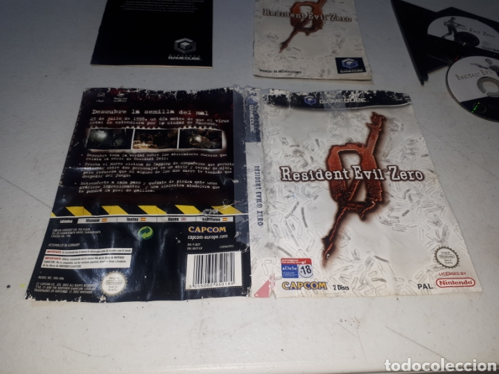 Videojuegos y Consolas: Resident Evil Zero GAMECUBE leer descripción - Foto 2 - 262454860