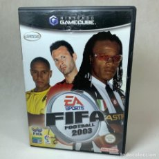 Videojuegos y Consolas: VIDEOJUEGO NINTENDO - GAMECUBE - FIFA FOOTBALL 2003 + CAJA + INSTRUCCIONES. Lote 262455105