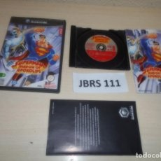 Videojuegos y Consolas: GAMECUBE - SUPERMAN - SHADOW OF APOKOLIPS , PAL ESPAÑOL , COMPLETO. Lote 262459420