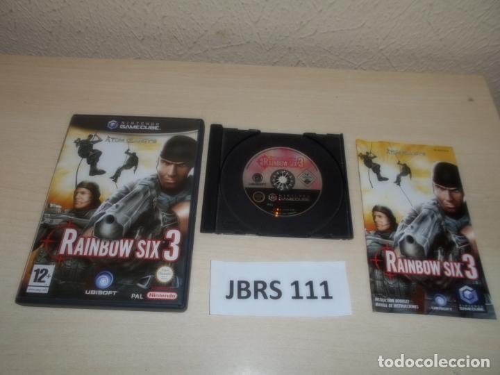 GAMECUBE - RAIMBOW SIX 3 , PAL ESPAÑOL , COMPLETO (Juguetes - Videojuegos y Consolas - Nintendo - Gamecube)