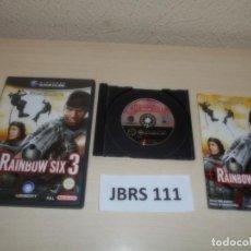 Videojuegos y Consolas: GAMECUBE - RAIMBOW SIX 3 , PAL ESPAÑOL , COMPLETO. Lote 262459685
