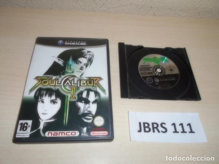 GAMECUBE - SOULCALIBUR II , PAL ESPAÑOL , SIN INSTRUCIONES (Juguetes - Videojuegos y Consolas - Nintendo - Gamecube)