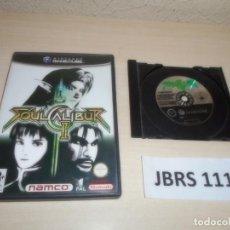 Videojuegos y Consolas: GAMECUBE - SOULCALIBUR II , PAL ESPAÑOL , SIN INSTRUCIONES. Lote 262460005