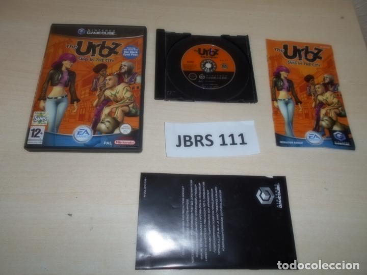 GAMECUBE - THE URBZ SIMS IN THE CITY , PAL UK , COMPLETO (Juguetes - Videojuegos y Consolas - Nintendo - Gamecube)