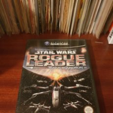 Videojuegos y Consolas: STAR WARS / ROGUE LEADER / NINTENDO GAMECUBE. Lote 263216980