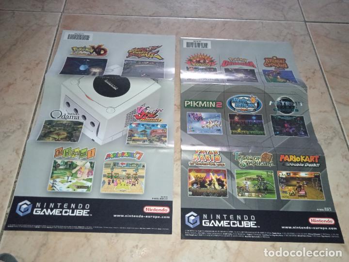 NINTENDO PAPELES GAMECUBE JUEGO LEGEND OF ZELDA PIKMIN (Juguetes - Videojuegos y Consolas - Nintendo - Gamecube)