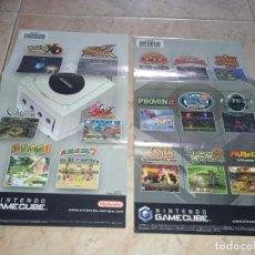 Videogiochi e Consoli: NINTENDO PAPELES GAMECUBE JUEGO LEGEND OF ZELDA PIKMIN. Lote 263904470