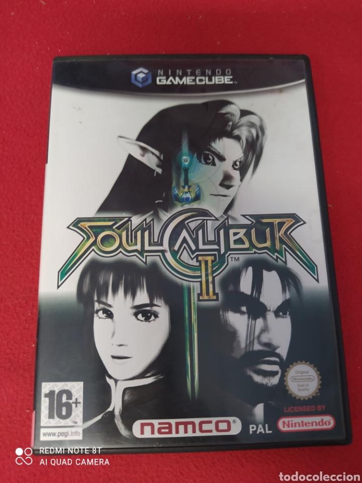 SOUL CALIBUR II (Juguetes - Videojuegos y Consolas - Nintendo - Gamecube)