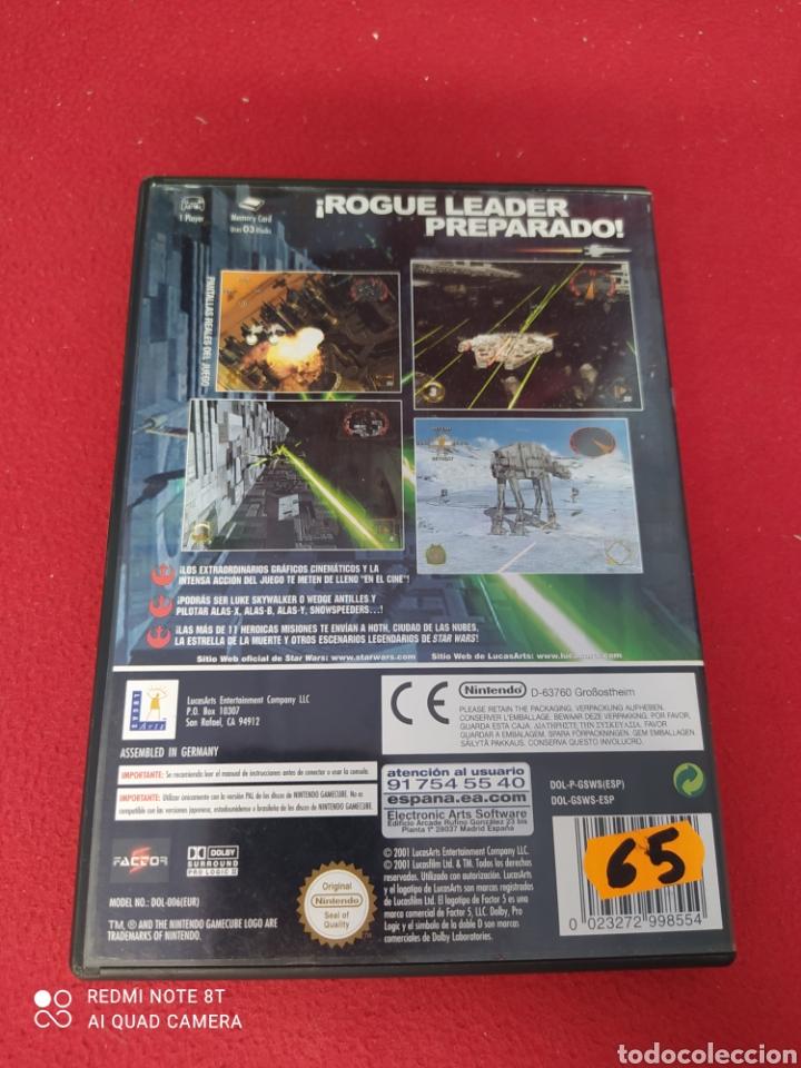Videojuegos y Consolas: STAR WARS ROGUE LEADER - Foto 3 - 263916850