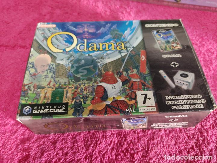 NINTENDO GAMECUBE ODAMA CON MICRÓFONO NUEVO Y PRECINTADO PAL ESPAÑA (Juguetes - Videojuegos y Consolas - Nintendo - Gamecube)