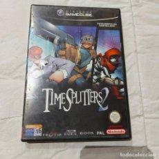 Videogiochi e Consoli: JUEGO GAMECUBE NINTENDO TIME SPLITERS 2 PAL ESP. Lote 264983209