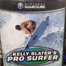 Videojuegos y Consolas: KELLY SLATER'S PRO SURFER. PAL-UK. JUEGO PARA GAMECUBE. USADO, BUEN ESTADO.. Lote 265171329