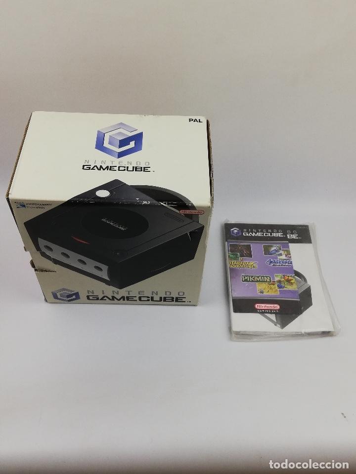 GAMECUBE NINTENDO CAJA Y MANUALES (Juguetes - Videojuegos y Consolas - Nintendo - Gamecube)
