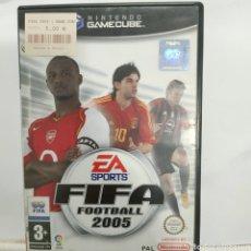 Videojuegos y Consolas: REFCUBE.4 FIFA 2005 JUEGO NINTEDO GAME CUBE SEGUNDAMANO. Lote 269101073