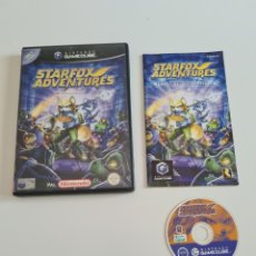 Videojuegos y Consolas: GAME CUBE STARFOX ADVENTURES. Lote 269114298