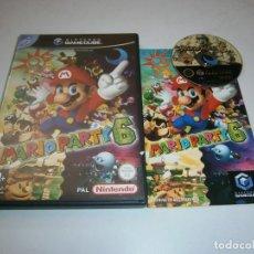 Videojuegos y Consolas: MARIO PATY 6 NINTENDO GAMECUBE PAL ESPAÑA COMPLETO. Lote 270186008