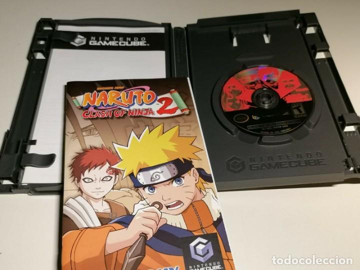 JUEGO NINTENDO GAMECUBE NARUTO CLASH OF NINJA 2 USA (Juguetes - Videojuegos y Consolas - Nintendo - Gamecube)