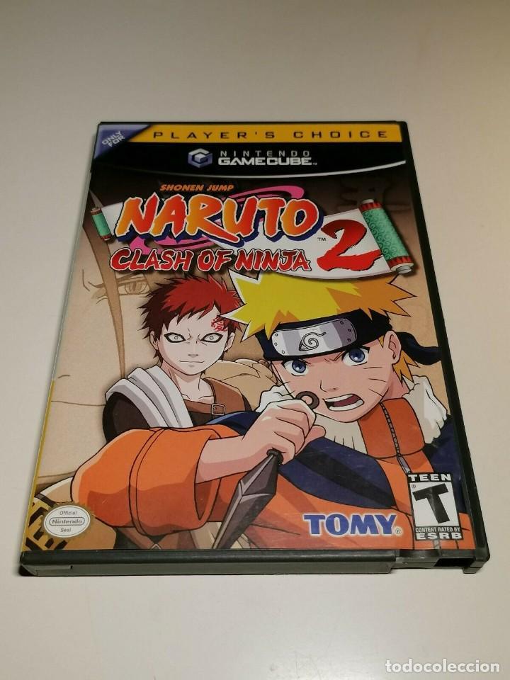 Videojuegos y Consolas: Juego Nintendo GameCube Naruto Clash of Ninja 2 USA - Foto 2 - 270530383