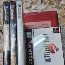 Videogiochi e Consoli: LOTE DE JUEGOS DE GAMECUBE Y PLAYSTATION 1. FINAL FANTASY.. Lote 270619458