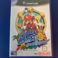 Videojuegos y Consolas: SUPER MARIO SUNSHINE - GAMECUBE PAL ESPAÑA COMPLETO. Lote 270641828