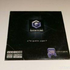 Videojuegos y Consolas: NINTENDO GAMECUBE VIDEO CD PROMOCIONAL. Lote 271044128