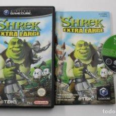 Videogiochi e Consoli: NINTENDO GAMECUBE SHREK EXTRA LARGE PAL ESPAÑA COMPLETO GAME CUBE GC. Lote 272747253