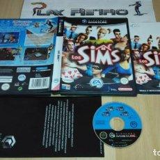 Videojuegos y Consolas: NINTENDO GAMECUBE LOS SIMS COMPLETO PAL ESPAÑA GC GAME CUBE. Lote 275060128