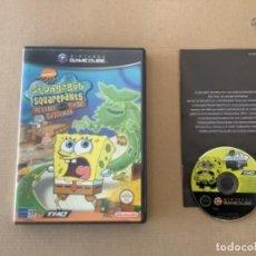 Videojuegos y Consolas: SPONGEBOB SQUAREPANTS GAMECUBE NINTENDO. Lote 275103968