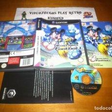Videojuegos y Consolas: NINTENDO GAME CUBE DISNEY SPORTS FOOTBALL COMPLETO PAL ESPAÑA GAMECUBE GC. Lote 275719338