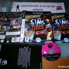 Videojuegos y Consolas: NINTENDO GAME CUBE GC LOS SIMS TOMAN LA CALLE COMPLETO PAL ESPAÑA. Lote 275721583