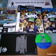 Videojuegos y Consolas: NINTENDO GAME CUBE GAMECUBE GC LOS SIMS 2 COMPLETO PAL ESPAÑA. Lote 275721688