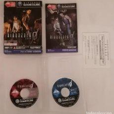 Videojogos e Consolas: NINTENDO GAMECUBE RESIDENT EVIL BIOHAZARD ZERO COMPLETO NTSC JAPÓN. Lote 275788638