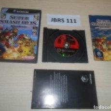 Videojuegos y Consolas: GAMECUBE - SUPER SMASH BROS MELEE , PAL ESPAÑOL , COMPLETO. Lote 275917483