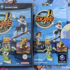 Videojuegos y Consolas: NINTENDO GAMECUBE GC DISNEY EXTREME SKATE ADVENTURE PAL ESPAÑA. Lote 276022748