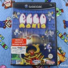 Videojuegos y Consolas: NINTENDO GAMECUBE GC EGGO MANIA COMPLETO PAL ESPAÑA. Lote 276025273