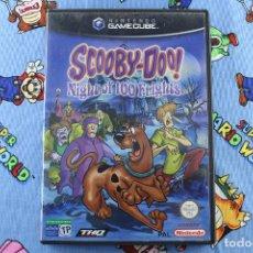 Videojuegos y Consolas: NINTENDO GAMECUBE GC SCOOBY-DOO ! NIGHT OF 100 FRIGHTS PAL ESPAÑA. Lote 276025573