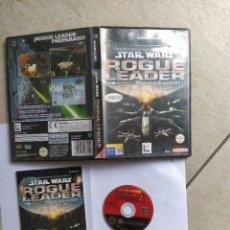 Videojuegos y Consolas: STAR WARS ROGUE LEADER NINTENDO GAMECUBE GC COMPLETO PAL-ESPAÑA. Lote 277474973