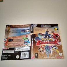 Videogiochi e Consoli: CARATULA POKEMON COLOSSEUM NINTENDO GAMECUBE GAME CUBE CONSOLA JUEGO. Lote 286870858