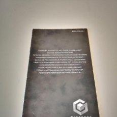 Videogiochi e Consoli: NINTENDO GAMECUBE MANUAL DE PRECAUCIONES E INFORMACION AL CONSUMIDO GAME CUBE CONSOLA JUEGO. Lote 286871643