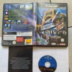 Videojuegos y Consolas: UNIVERSAL STUDIOS THEME PARK ADVENTURE NINTENDO GAMECUBE PAL-ESPAÑA. Lote 286936733