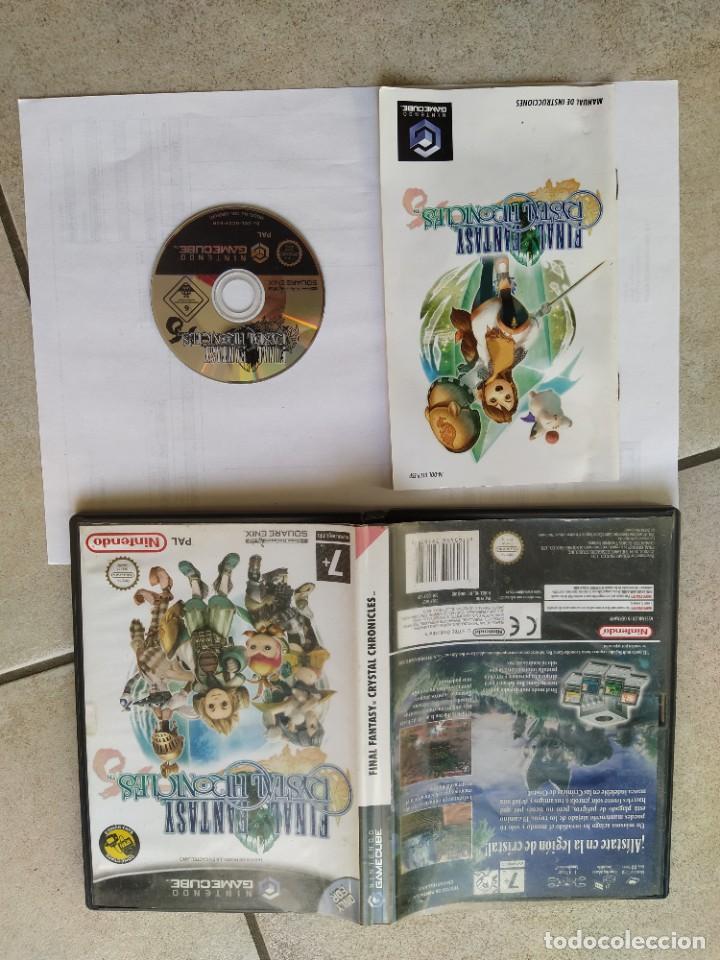 FINAL FANTASY CHRISTAL CHRONICLES NINTENDO GAMECUBE PAL-ESPAÑA COMPLETO (Juguetes - Videojuegos y Consolas - Nintendo - Gamecube)