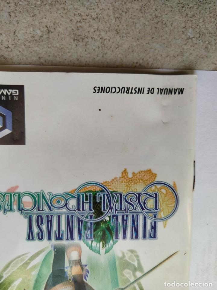 Videojuegos y Consolas: FINAL FANTASY CHRISTAL CHRONICLES NINTENDO GAMECUBE PAL-ESPAÑA COMPLETO - Foto 3 - 286936998