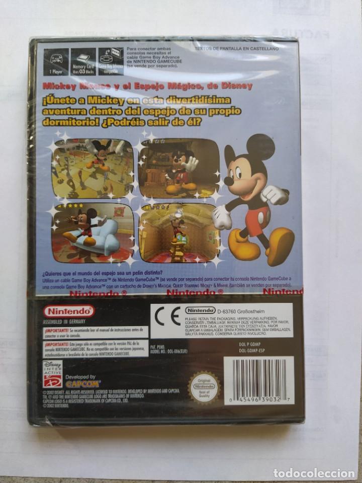 Videojuegos y Consolas: DISNEYS MAGICAL MIRROR NINTENDO GAMECUBE PAL-ESPAÑA PRECINTADO - Foto 2 - 286937428