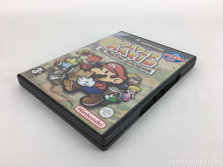 Videojuegos y Consolas: JUEGO GAMECUBE Paper Mario La puerta milenaria - COMPLETO - PAL ESPAÑA GAME CUBE - Foto 2 - 286992018